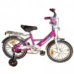 "MARS Велосипед 16"" С1601 pink/purple"