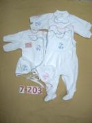 Комплект для новорождённого, 4 пред