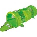 Тоннель надувной-крокодил