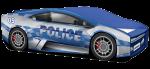 """Кроватка-машинка Ламбо """"Полиция"""""""