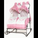 Санки-коляска для двойни Кристи