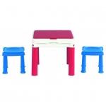 Столик для игр с конструктором 3в1