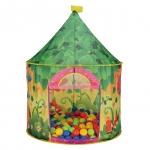 Детская игровая палатка Calida + 100 шар