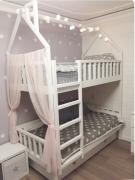 """Двухъярусная кровать """"Вуди 3"""" дуб"""