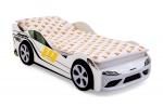 Кровать-машина «Супра» белая