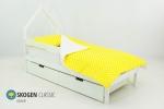 Кровать-домик мини «Svogen белый»